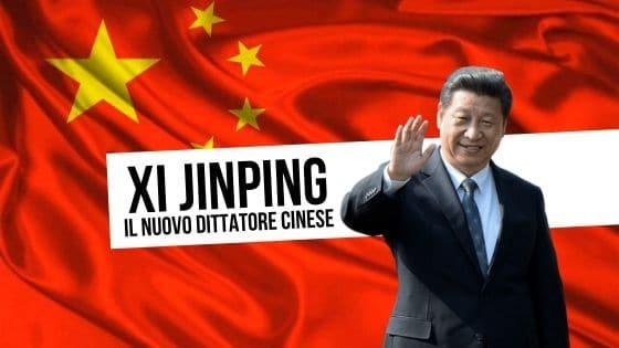 Xi Jinping dittatore