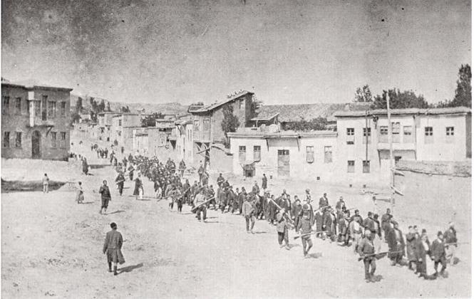 Una marcia di armeni