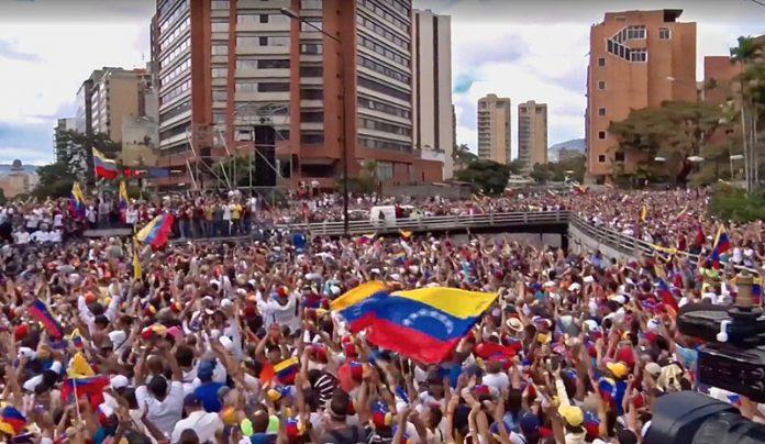 Freelance Venezuela proteste