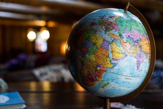 Africa nel globo
