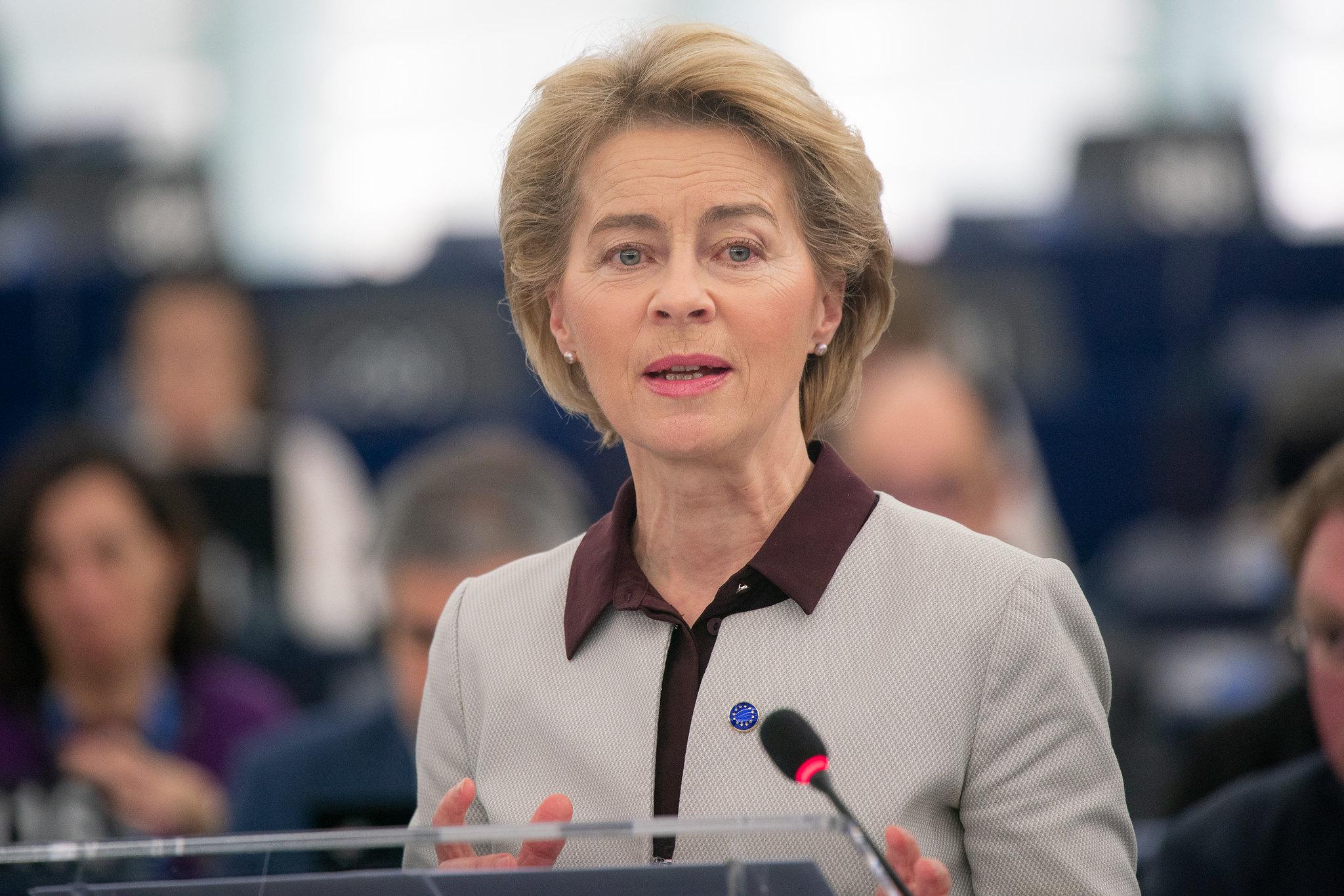 Ursula von der Leyen, Presidente Commissione Europea