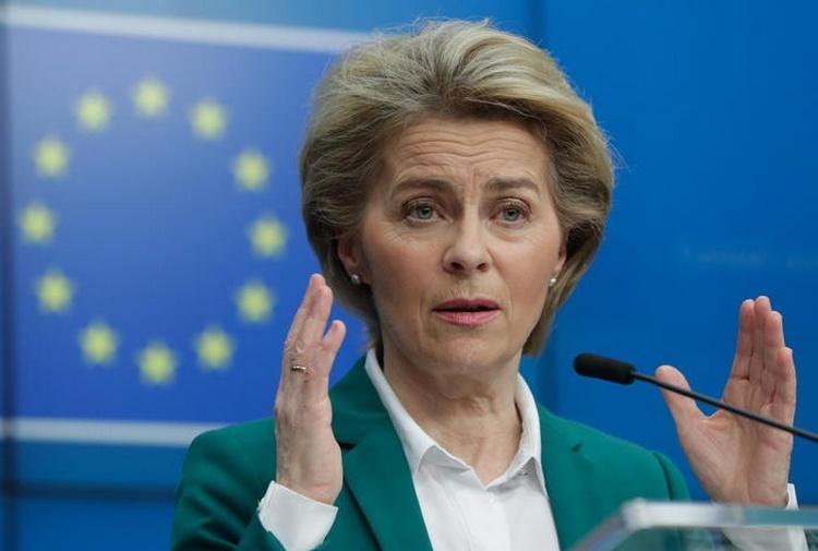 Ursula von der Leyen, Presidente Commissione europea. Fonte: Ansa.