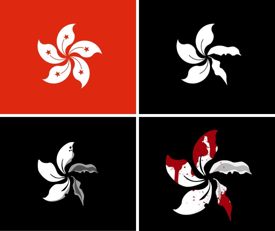 Bandiere Hong Kong Bauhinia