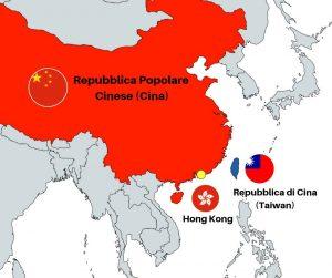 Hong Kong Cina e Taiwan