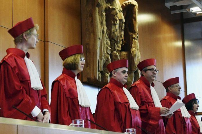 Giudici della Corte costituzionale tedesca