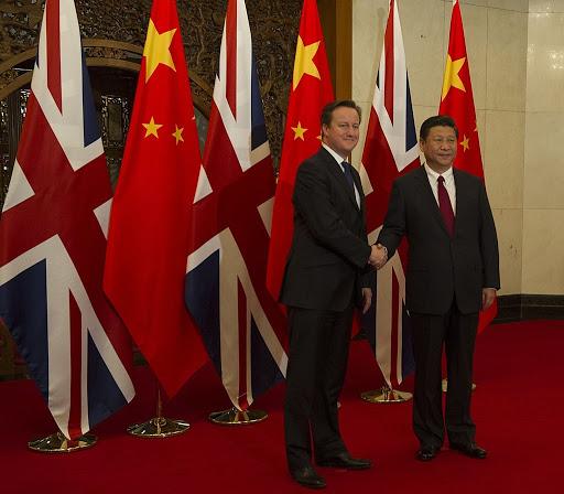 David Cameron e Xi Jinping