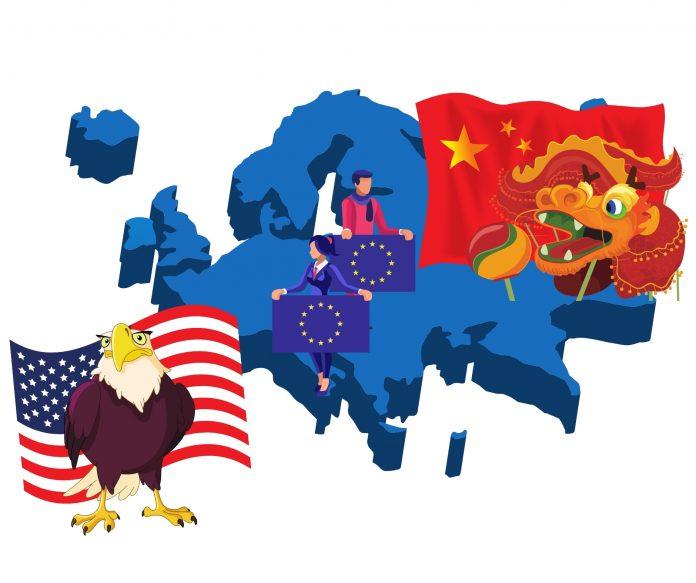 Europa contesa tra UE e Cina