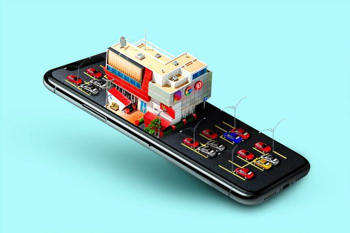 Per il Next Generation Eu una elaborazione grafica artistica di un telefono cellulare