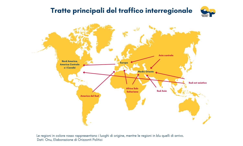 mappa tratta prostituzione