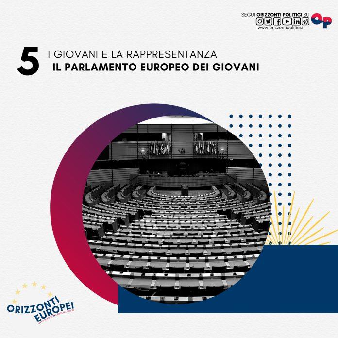 copertina parlamento europeo giovani