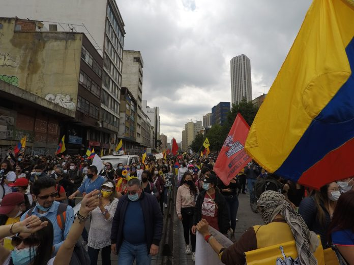 Sud America Proteste
