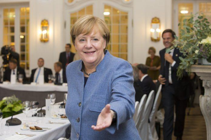 La cancelliera della Germania Angela Merkel