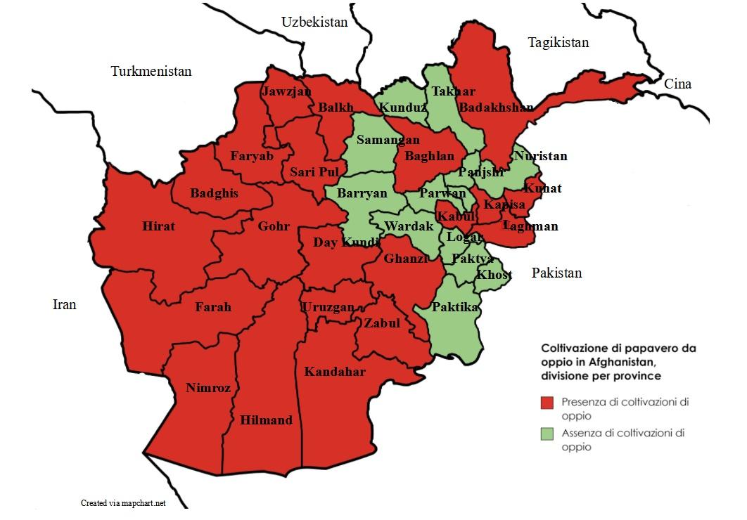 Afghanistan oppio